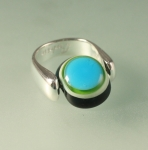 """Ring 925 Silber """"wide rund"""""""