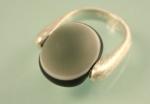 """Ring 925 Silber """"pur rund geeist"""""""